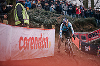 defending World Champion Wout Van Aert (BEL/Crelan-Charles)<br /> <br /> Elite Men's Race<br /> 2018 CX World Championships<br /> Valkenburg - The Netherlands