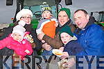 FOOD; Eating well at the abbeydorney Ploughing competition on Sunday l-r: Jennifer,Lila,Robbie and brian Scanlon (Listowel),Jerry and Shane Leonard (Abbeydorney).........