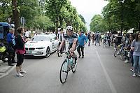Iljo Keisse (BEL/OPQS) rolling in after the stage<br /> <br /> 2014 Giro d'Italia <br /> stage 17: Sarnonico - Vittori Veneto (208km)