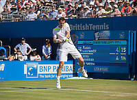 ANDY MURRAY (GBR)<br /> <br /> Aegon Championships 2014 - Queens Club -  London - UK -  ATP - ITF - 2014  - Great Britain -  12th June 2014. <br /> <br /> &copy; AMN IMAGES
