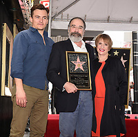HOLLYWOOD - FEBRUARY 12: Rupert Friend, Mandy Patinkin, and Patti LuPone as Mandy Patinkin was honored with a star on the Hollywood Walk of Fame today, where Homeland's Rupert Friend and broadway legend Patti LuPone spoke to his storied career and humanitarian work.The ceremony was followed by a celebratory luncheon given by Fox 21 Television Studios and Showtime.  Homeland's seventh season premiered on Showtime February 11, and airs Sundays at 10 PM. (Photo by Frank Micelotta/FOX/PictureGroup)