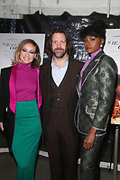 LOS ANGELES, CA - DECEMBER 4: Olivia Wilde, Jason Sudeikis and DeWanda Wise at the LA special screening of If Beale Street Could Talk at ArcLight Hollywood in Los Angeles California on December 4, 2018. <br /> CAP/MPIFS<br /> &copy;MPIFS/Capital Pictures