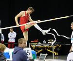 14.02.2020, Mercedes Benz Arena, Berlin, GER, ISTAF-Indoor 2020 Berlin, im Bild <br /> Stabhochsprung<br /> Torben Blech (GER)<br /> <br />      <br /> Foto © nordphoto / Engler