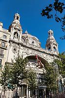 Cine Coliseum, Gran Via, Barcelona, Spain.