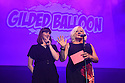 Edinburgh, UK. 04.08.2016. The Gilded Balloon launches its Edinburgh Festival Fringe 2016 programme. Picture shows: Katy Koren, Karen Koren. Photograph © Jane Hobson.