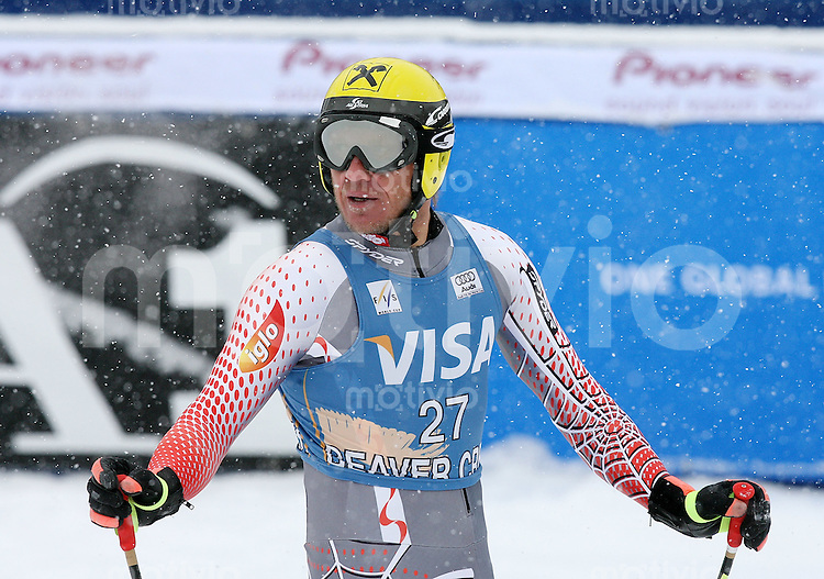 Ski Alpin; Saison 2006/2007  Abfahrt Herren Enttaeuschung, Hermann Maier (AUT)