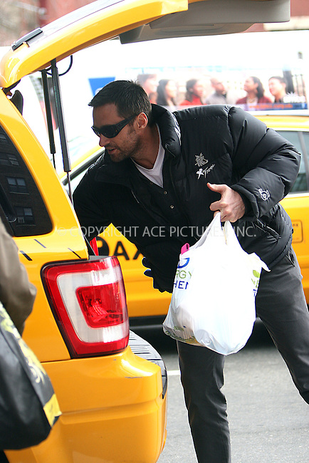 WWW.ACEPIXS.COM . . . . .  ....January 20 2010, New York City....Actor Hugh Jackman spotted on the way to the school run in the West Village on January 20 2010 in New York City....Please byline: NANCY RIVERA- ACE PICTURES.... *** ***..Ace Pictures, Inc:  ..tel: (212) 243 8787 or (646) 769 0430..e-mail: info@acepixs.com..web: http://www.acepixs.com