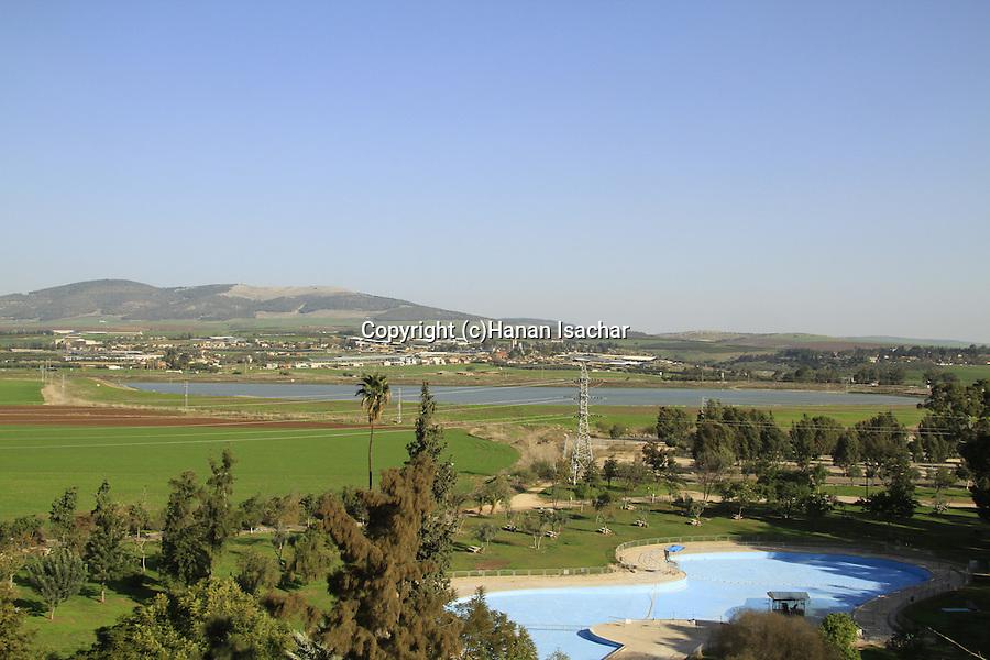 Israel, Harod valley, Ma'ayan Harod national park