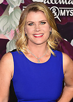 PASADENA, CA - JANUARY 13:  Alison Sweeney at the Hallmark Channel and Hallmark Movies & Mysteries Winter 2018 TCA Press Tour at Tournament House on January 13, 2018 in Pasadena, California. (Photo by Scott Kirkland/PictureGroup)