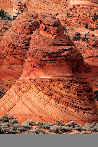 The Paw Hole Teepees at South Coyote Buttes at the Vermillion Cliffs National Monument
