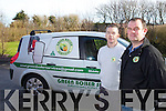 Kerry O'Sullivan and Alan O'Sullivan Green Boiler Services.