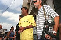 Prisão do empresário José Soares Sobrinho em Altamira no Pará, envolvido no escândalo Sudam.<br />31/08/2001.<br />Foto Paulo Santos/Interfoto