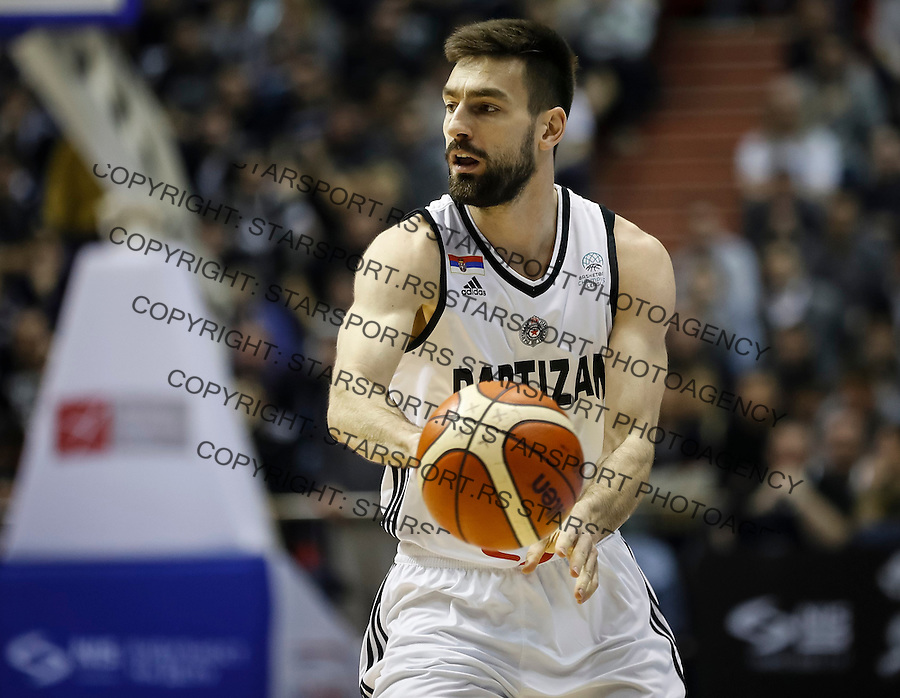 Kosarka FIBA Champions League season 2016-2017<br /> Partizan v PAOK<br /> Branislav Ratkovica<br /> Beograd, 08.01.2016.<br /> foto: Srdjan Stevanovic/Starsportphoto &copy;