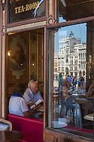 Italie, Vénétie, Venise:    Le Caffè Florian est le plus ancien, célèbre et luxueux café de la place Saint-Marc fondé en 1720 par Floriano Francesconi.  // Italy, Veneto, Venice: Caffè Florian is a coffee house situated in the Procuratie Nuove of Piazza San Marco,