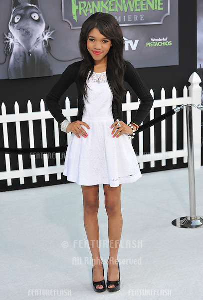 "Teala Dunn at the premiere of ""Frankenweenie"" at the El Capitan Theatre, Hollywood..September 24, 2012  Los Angeles, CA.Picture: Paul Smith / Featureflash"