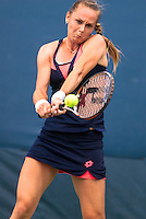 NEW YORK, NY - August 26, 2013: Magdalena Rybarikova during her first round single's match at the 2013 US Open in New York, NY on Monday, August 26, 2013.