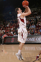 STANFORD, CA - JANUARY 6:  Drew Shiller of the Stanford Cardinal during Stanford's 54-53 win over the USC Trojans on January 6, 2009 at Maples Pavilion in Stanford, California.