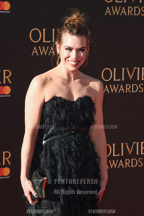 Billie Piper at The Olivier Awards 2017 at the Royal Albert Hall, London, UK. <br /> 09 April  2017<br /> Picture: Steve Vas/Featureflash/SilverHub 0208 004 5359 sales@silverhubmedia.com