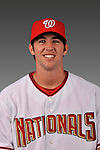 14 March 2008: ..Portrait of Sean Rooney, Washington Nationals Minor League player at Spring Training Camp 2008..Mandatory Photo Credit: Ed Wolfstein Photo