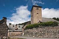 Europe/France/Midi-Pyrénées/65/Hautes-Pyrénées/Mont: L'église Romane Saint-Barthélémy