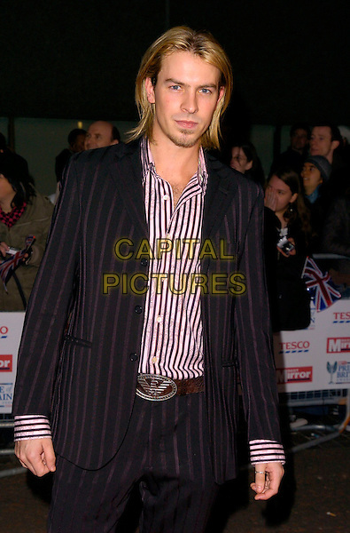 GUEST.The Daily Mirror's Pride Of Britain Awards, London Television Studios, London, UK..November 6th, 2006.Ref: CAN.half length black suit jacket.www.capitalpictures.com.sales@capitalpictures.com.©Can Nguyen/Capital Pictures