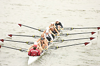 14 April 2006: The women's second varsity eight during the 2006 Stanford Invitational Crew Classic at Redwood Shores, CA.