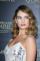 Pride And Prejudice And Zombies Premiere