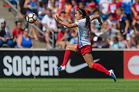 Bridgeview, IL - Saturday July 22, 2017: Jennifer Hoy during a regular season National Women's Soccer League (NWSL) match between the Chicago Red Stars and the Orlando Pride at Toyota Park. The Red Stars won 2-1.