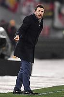 Eusebio Di Francesco, Roma coach.<br /> Roma 16-12-2018 Stadio Olimpico<br /> Football Calcio Campionato Serie A<br /> 2018/2019 <br /> AS Roma - Genoa<br /> Foto Antonietta Baldassarre / Insidefoto