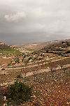 "Judea, Gush Etzion. A view from the ""Path of the Patriarchs"""