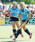 NIJMEGEN -  Kirsten Klop (Nijm.)   tijdens  de tweede play-off wedstrijd dames, Nijmegen-Huizen (1-4), voor promotie naar de hoofdklasse.. Huizen promoveert naar de hoofdklasse.  COPYRIGHT KOEN SUYK