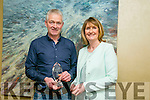 The annual Enterprise Month was officially launched on Monday with the Kerry Local Enterprise Office County Enterprise Awards at the Manor West Hotel. Pictured are the Finalist  Eileen and Thomas Ashe, Annascaul Black Pudding