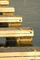 Detail of boat docks of Antelope point harbor, Lake Powell