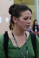 RIO DE JANEIRO-21/06/2012-Severn Cullis-Suzuki, a menina que calou o mundo na ECO 92 retorna ao Brasil para a  Conferencia da ONU, no Rio Centro, zona oeste do Rio.Foto:Marcelo Fonseca-Brazil Photo Press