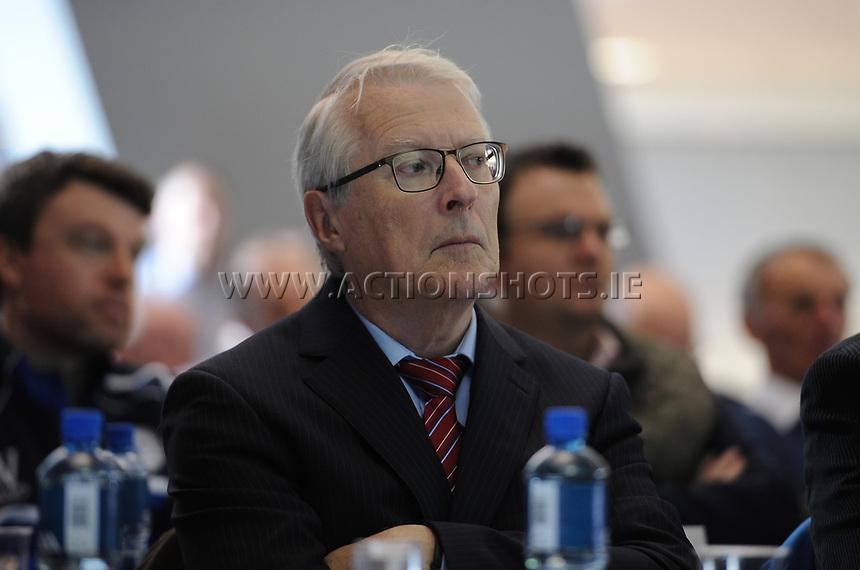04/02/2018; GAA Handball Annual Congress 2018; Croke Park, Dublin;<br /> Former GAA Handball President Willie Roche.<br /> Photo Credit: actionshots.ie/Tommy Grealy