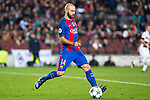 FC Barcelona's Javier Mascherano during Champions League match between Futbol Club Barcelona and VfL Borussia Mönchengladbach  at Camp Nou Stadium in Barcelona , Spain. December 06, 2016. (ALTERPHOTOS/Rodrigo Jimenez)