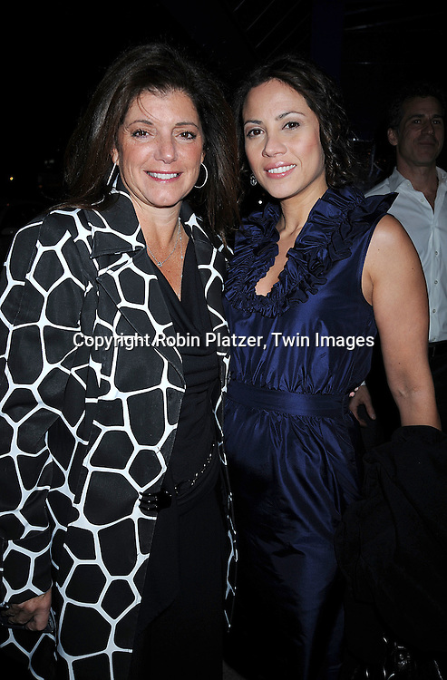 Julie Hanon Carruthers and Elizabeth Rodriguez ..at The All My Children Christmas Party on December 15, 2008 at Prohibition Restauant in New York City. ....Robin Platzer, Twin Images