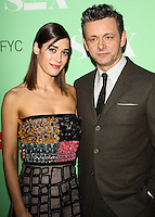 "NORTH HOLLYWOOD, CA, USA - APRIL 29: Lizzy Caplan, Michael Sheen at Showtime's ""Masters Of Sex"" Special Screening And Panel Discussion held at the Leonard H. Goldenson Theatre on April 29, 2014 in North Hollywood, California, United States. (Photo by Celebrity Monitor)"