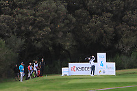 Benjamin Poke (DEN) on the 4th tee during Round 3 of the Challenge Tour Grand Final 2019 at Club de Golf Alcanada, Port d'Alcúdia, Mallorca, Spain on Saturday 9th November 2019.<br /> Picture:  Thos Caffrey / Golffile<br /> <br /> All photo usage must carry mandatory copyright credit (© Golffile | Thos Caffrey)
