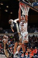 SAN ANTONIO, TX - FEBRUARY 28, 2013: The University of Idaho Vandals vs. the University of Texas at San Antonio Roadrunners Men's Basketball at the UTSA Convocation Center. (Photo by Jeff Huehn)