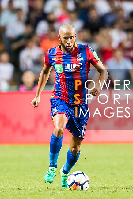 Crystal Palace midfielder Andros Townsend in action during the Premier League Asia Trophy match between Liverpool FC and Crystal Palace FC at Hong Kong Stadium on 19 July 2017, in Hong Kong, China. Photo by Yu Chun Christopher Wong / Power Sport Images