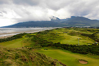 Play on the 2nd green during the Matchplay Final of the Women's Amateur Championship at Royal County Down Golf Club in Newcastle Co. Down on Saturday 15th June 2019.<br /> Picture:  Thos Caffrey / www.golffile.ie<br /> <br /> All photos usage must carry mandatory copyright credit (© Golffile | Thos Caffrey)