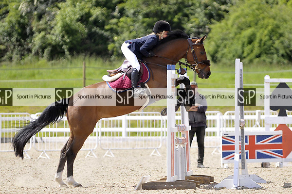 Class 5. Bright star championship. British Showjumping (BS) Juniors. Brook Farm training centre. Stapleford Abbotts. Essex. 14/05/2017. MANDATORY Credit Garry Bowden/Sportinpictures - NO UNAUTHORISED USE - 07837 394578