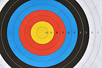 Bersaglio <br /> Roma 01-09-2017 Stadio dei Marmi <br /> Roma 2017 Hyundai Archery World Cup Final <br /> Finale Coppa del mondo tiro con l'arco <br /> Foto Andrea Staccioli Insidefoto/Fitarco