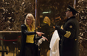 Kellyane Conway arrives to Trump Tower on January 17, 2017 in New York City. U.S. President Elect Donald Trump is still holding meetings upstairs at Trump Tower just 3 days before the inauguration.    <br /> Credit: Bryan R. Smith / Pool via CNP