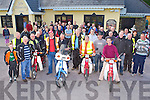 Easy riders at the start of the Honda Easter run in aid of Leukaemia which started in Killarney on Sunday