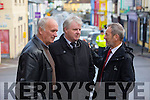 John Clifford and Ger Counihan and Sean Kelly MEP at the Funeral of Christy Kissane in St James Church Killorglin on Friday