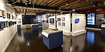Overall view of the display at the World Chess Hall of Fame in St. Louis where a new chess history exhibition, US Chess: 80 Years—Promoting the Royal Game in America, opened there with a free opening reception event on March 6, 2019. The chess exhibit will be on display through October 27, 2019. <br /> (Tim Vizer/AP Images for  World Chess Hall of Fame)