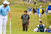 Zander Lombard (RSA) Eddie Pepperell (ENG) during the 3rd round of the Dubai Duty Free Irish Open, Lahinch Golf Club, Lahinch, Co. Clare, Ireland. 06/07/2019<br /> Picture: Golffile | Thos Caffrey<br /> <br /> <br /> All photo usage must carry mandatory copyright credit (© Golffile | Thos Caffrey)