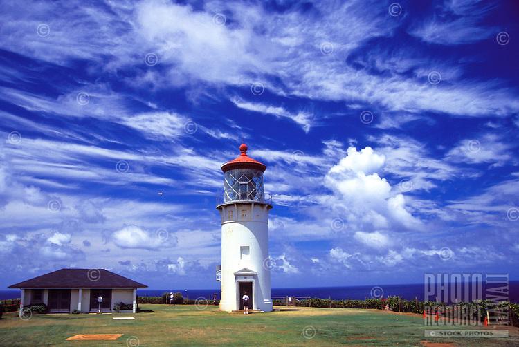 Kilauea lighthouse on Kauai's north shore